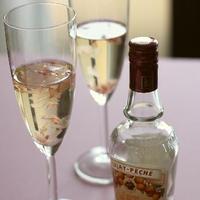 もものお酒で、桜のジュレ レシピUP