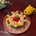 簡単♡時短♡プーさんのちぎりパン♡とハピバと娘作パスタ♪ by のりPさん