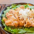 悪魔的柔らか。レンジ5分悶絶のテリヤキ柚子胡椒蒸し鶏(糖質5.8g) by ねこやましゅんさん