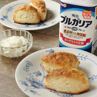 ホットケーキミックスでつくるヨーグルトスコーンレシピ