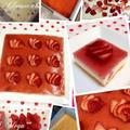 *苺のレアチーズケーキinヨーグルト*