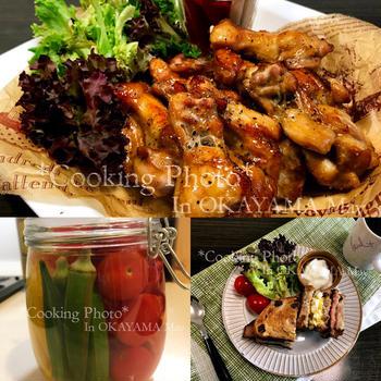 久しぶりの料理の日で✨ローストチキン✨と✨夏野菜のピクルス✨