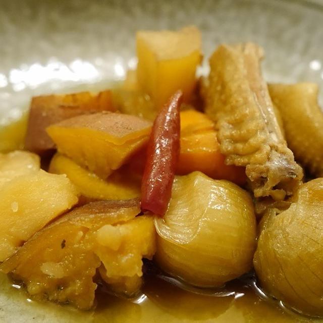 ★ 鶏と根菜の炊いたん&海鮮出汁かきたま