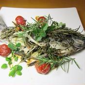 白身魚の美味しいハーブ焼き