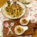 かつおをもっと美味しく♡ お肉みたいな食感で一口サイズのおもてなし☆ かつおとゆで卵の長芋焼き☆ by naoguriさん