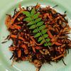 豚バラとひじきのW生姜炒め