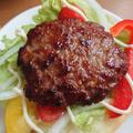 ハンバーガーの韓国レシピ。プルコギバーガーの甘辛パティを簡単に♪食パンOK