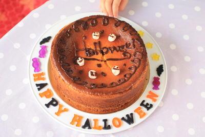 栗カボチャのベイクドチーズケーキ