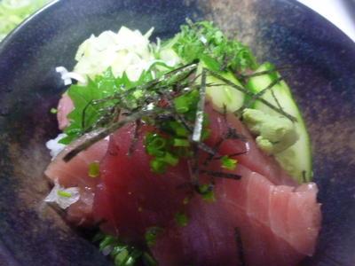 マグロの漬け丼☆