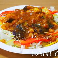ひよこ豆のカレーサラダ