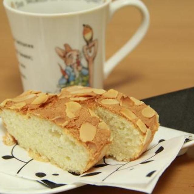 アーモンドケーキとおでん