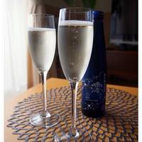 スパークリング清酒でおうちパーティーの一品。