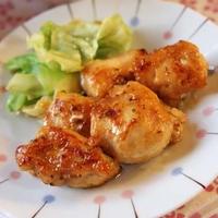 つやつや鶏胸肉のマスタード醤油/ダッピー