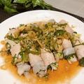 レンジで簡単 白菜と青じその肉巻き ポン酢ダレでさっぱり