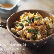 栄養たっぷり!ご飯のお供に炒り豆腐
