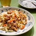 ご飯にピッタリ!味噌が決め手の豚肉入り野菜炒め