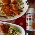 +*鶏胸肉とリーキ (西洋ネギ )のグリル+*