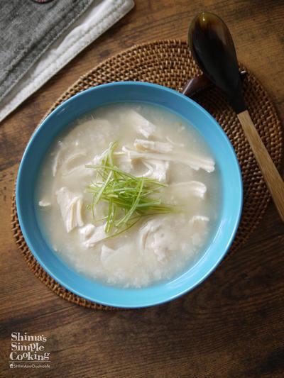進化したサラダチキン|コンビニ食材|お手軽食材|【サラダチキンで作る参鶏湯】