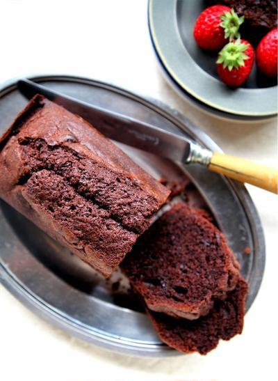♡ホットケーキミックスdeチョコレートパウンドケーキ♡【#簡単#お菓子#コッタ】