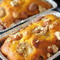 ノンオイル・かぼちゃとバナナのパウンドケーキ by 杏さん