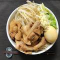 【サッポロ一番】自宅で即席二郎風ラーメン【インスタント麺レシピ】