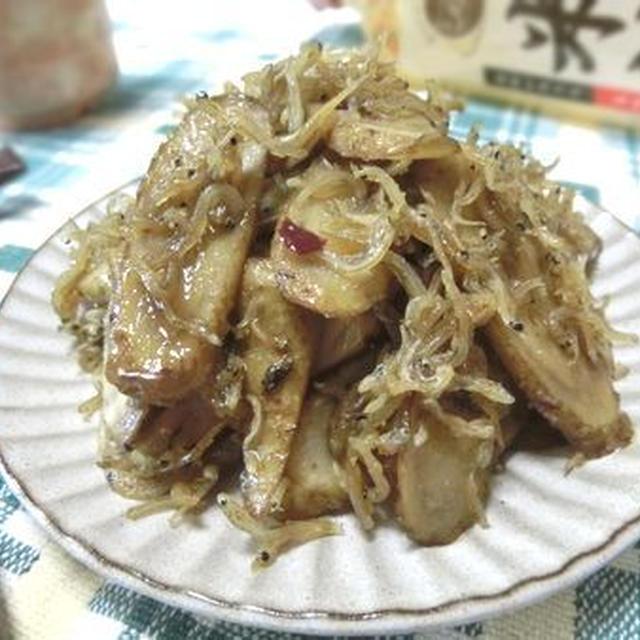 酸化しにくい米油で作りおき☆ ごぼうとちりめんじゃこの甘辛炒め煮