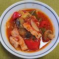 ベーコンと野菜のトマト煮