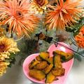 大学かぼちゃ☆花と料理でハロウィンを楽しもう♪