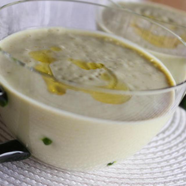 365日糖質オフレシピNo.192「アボカドの冷製豆乳スープ」