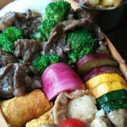 牛肉ブロッコリーオイ炒め