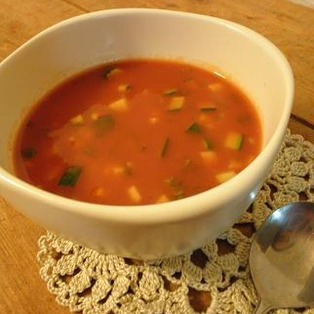 [スープ]簡単ガスパチョ
