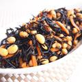 めんつゆで簡単!大豆と芽ひじきの煮物