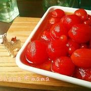 彩り鮮やかで見た目もかわいい!ミニトマトでマリネを作ろう♪