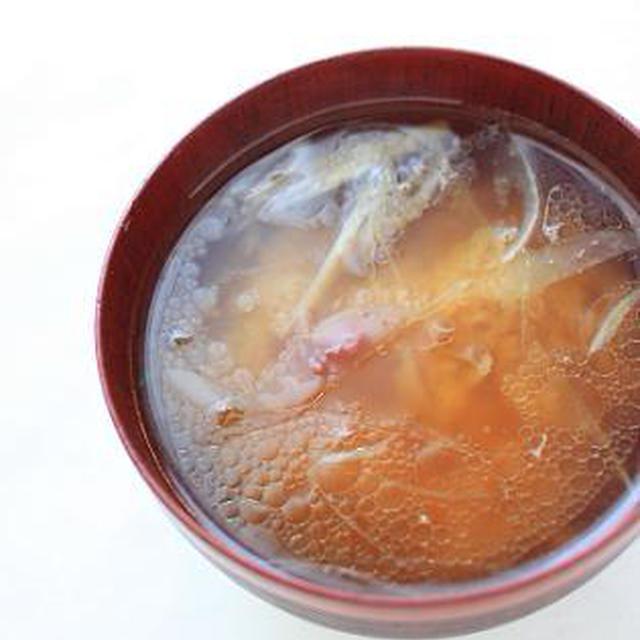 レシピ「ツナと茗荷と玉ねぎのお味噌汁」と日曜日のお昼ごはん♪