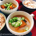 どくだみでオクラと南瓜の薬膳お味噌汁(動画有) by Misuzuさん