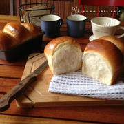 ミルクブレッド*手捏ねの写真工程*年明け最初のバン。いろんなパンたち。