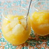 爽やか♪グレープフルーツとオレンジゼリーのレシピ