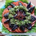 夏バテ予防に☆茄子とトマトのニラだれ冷製サラダ♪
