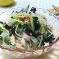 やみつき~♪ きゅうりと鶏ハムの春雨中華サラダ