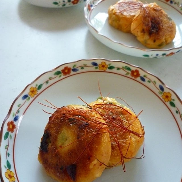 キムチのモッチモチ焼き