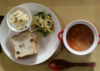 初夏のトマトスープ♪