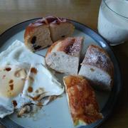 遊びに行った翌日の朝食&昼食と昨日の事を少しだけ