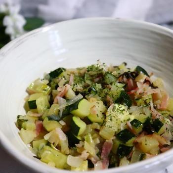 夏野菜のあっさりイタリアン炒め❤️