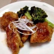 鶏もも肉とブロッコリーの甘酢炒め&献立