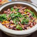 【家ごはん】 ホタルイカたっぷり♪ 土鍋でホタルイカご飯