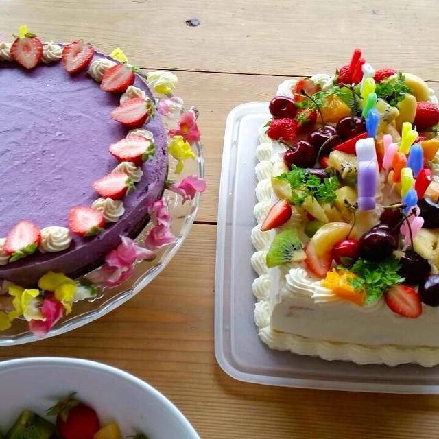 おひな祭りのケーキの代わりにご紹介、90歳のバースディケーキをロースイーツで♪【レシピ】