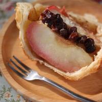 りんごとレーズンバターのパイ包み焼き