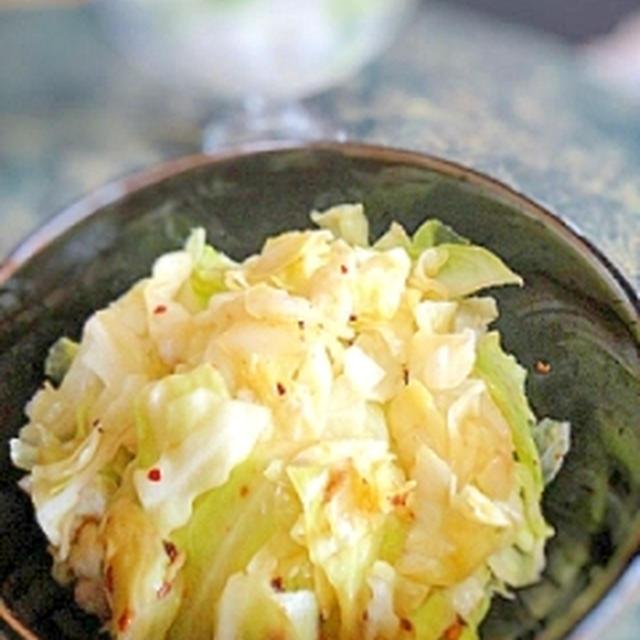 簡単一品☆炒めキャベツの食べラーサラダ