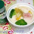 GABANローズマリーで<鶏肉とセロリとブロッコリーのミルクスープ♪> by はらぺこ準Jun(はーい♪にゃん太のママ改め)さん