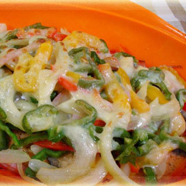 みそ鍋の素企画お礼☆秋鮭とパプリカのチーズ焼き